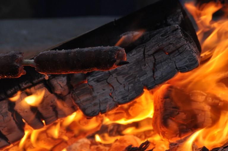 Dockweiler Bonfire | © Ricardo Diaz/Flickr