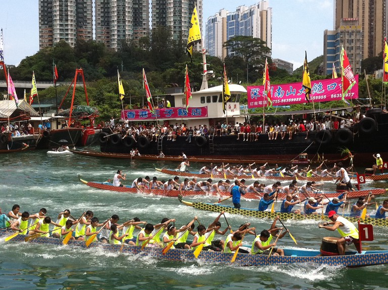 Dragon Boat © Atmhk/Wikimedia