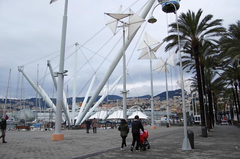 The port of Genoa © Pia Staigmueller