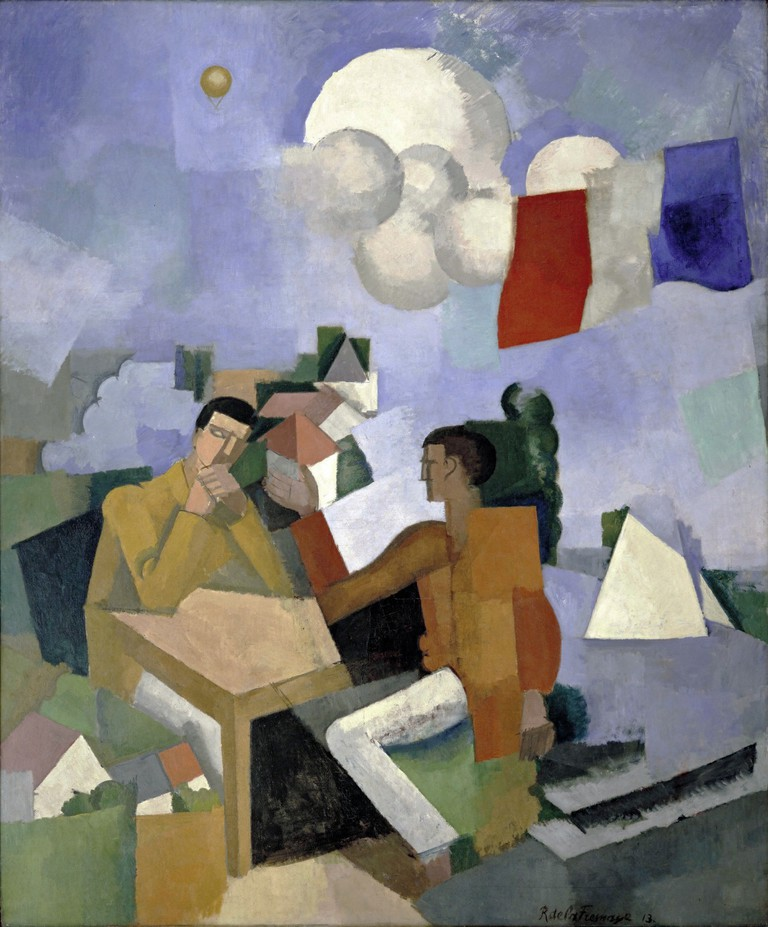 Robert de la Fresnaye, Conquest of the Air, 1913 | © MoMA/WikiCommons