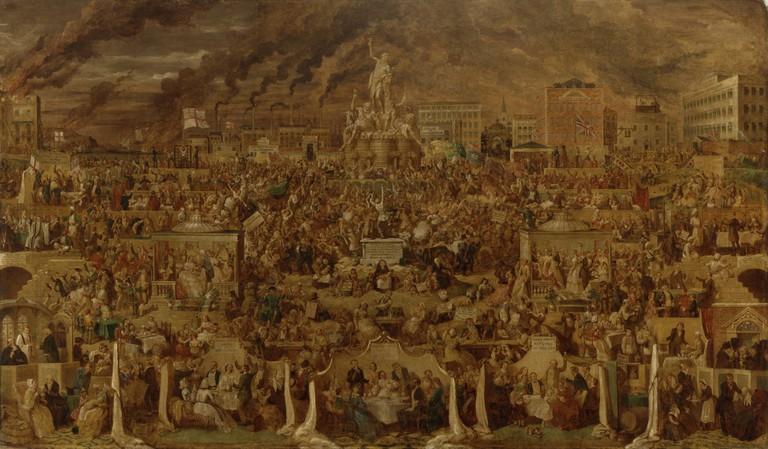 The Worship of Bacchus, 1860   © George Cruikshank
