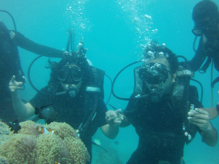 Scuba Diving at Havelock