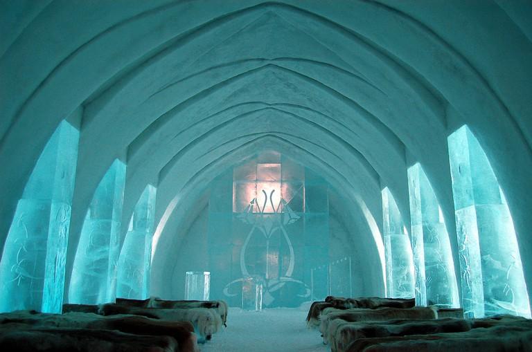 The ICEHOTEL, Sweden | © bjaglin/Flickr