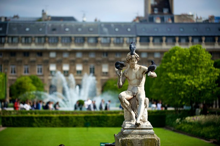 Jardin du Palais Royal │© Daniel Stockman / Wikimedia Commons