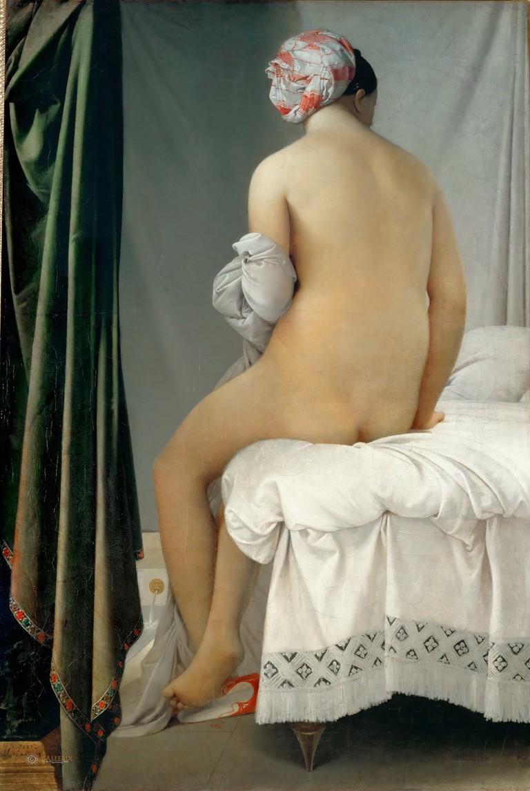 Ingres, The Valpinçon Bather, 1808   © Musée du Louvre/WikiCommons