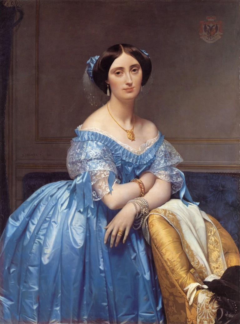 Ingres, Portrait of the Princesse Broglie, 1853   © Metropolitan Museum of Art/WikiCommons