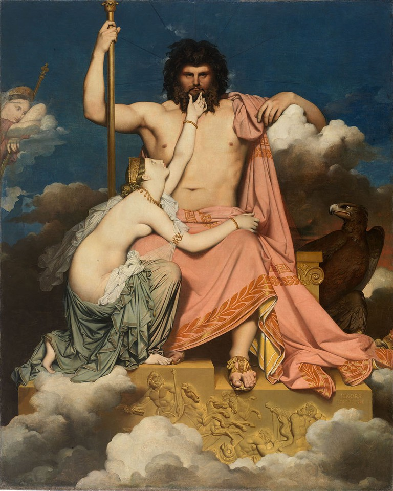 Ingres, Jupiter and Thetis, 1811   © Musée Granet/WikiCommons