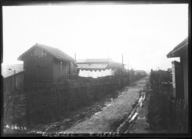 La zone d'Ivry, 1913  ©BNF/Wikicommons