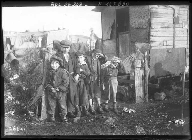 Les enfants de la zone   ©BNF/Wikicommons