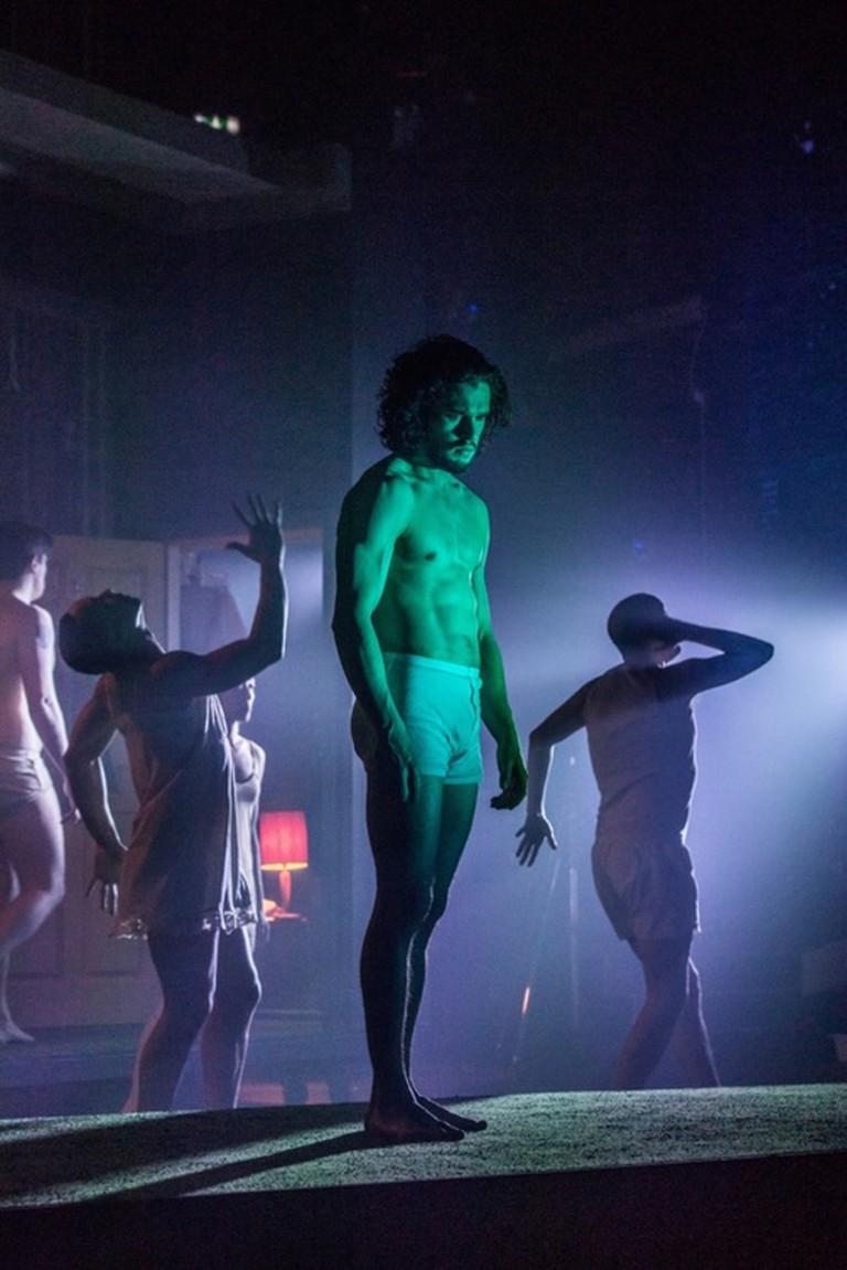 Kit Harington in Dr Faustus |©Marc Brenner/Courtesy of The Jamie Lloyd Company