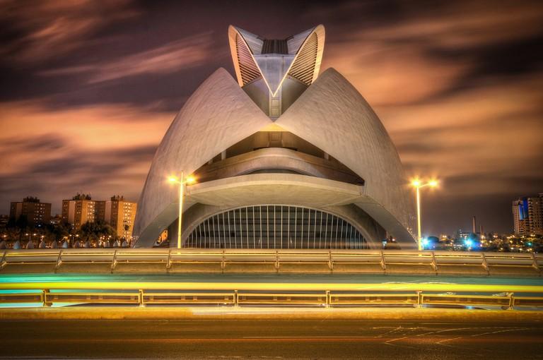 Palau de les Arts Reina Sofía, Valencia   © Craig Cormack/Flickr