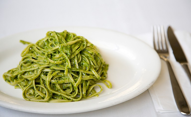 Linguine con Pesto | © Courtesy of Eatalian Cafe