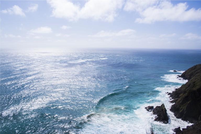 New Zealand coast | ©Mathew Waters/Unsplash