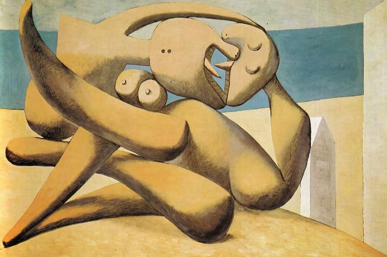 Pablo Picasso, Figures on a Beach, 1931| © Nicho Design / Flickr