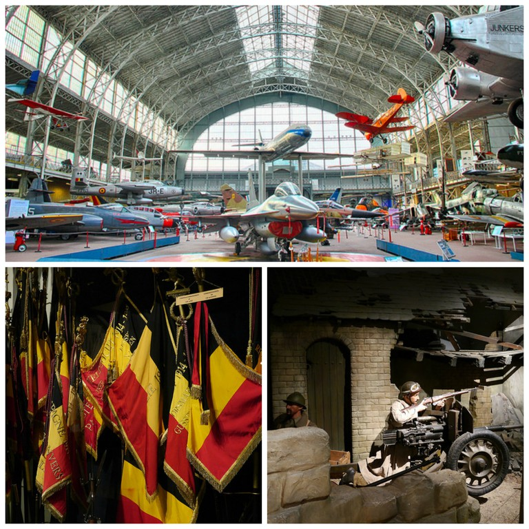 Royal Museum of the Armed Forces and Military History | Clemens Vasters/Flickr | Royal Museum of the Armed Forces and Military History Brussels | Klaus Nahr/Flickr | Royal Museum of the Armed Forces and Military History Brussels | Klaus Nahr/Flickr