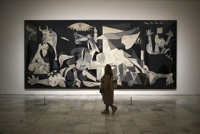 Picasso Art Exhibition, Madrid, Spain - 03 Apr 2017