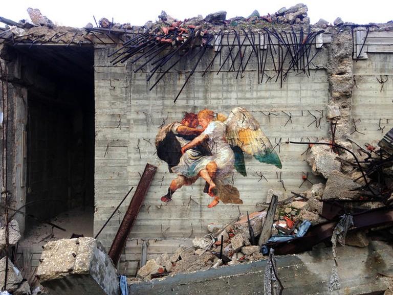 Outings Jerusalem _ Angel Fight | Courtesy of Julien de Casabianca