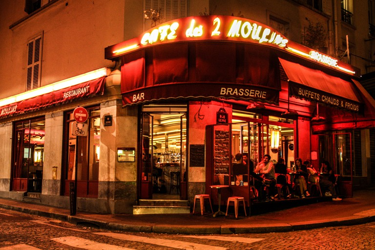 Visit the cafe Amélie was filmed in
