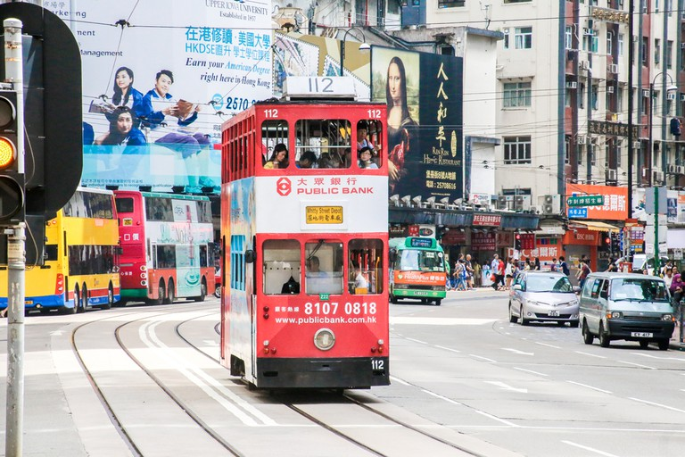 Hong Kong's trams, known locally as