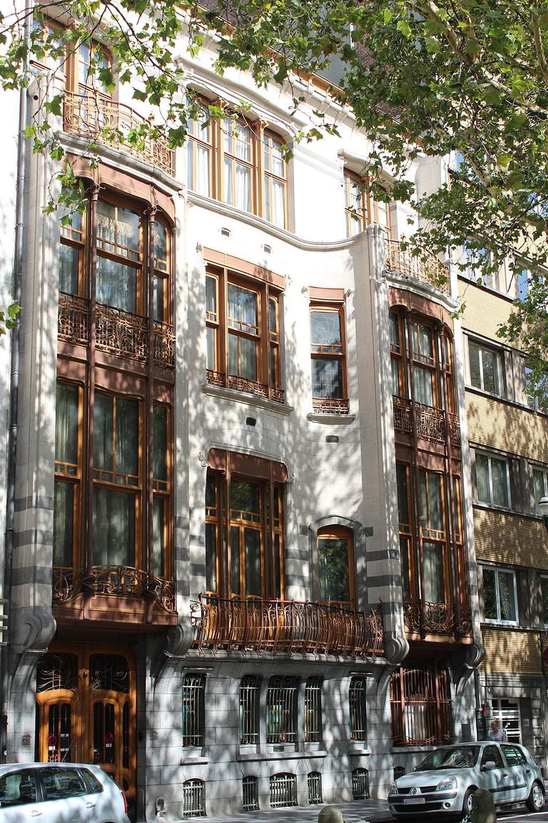 Solvay House |© Zinneke/WikiCommons