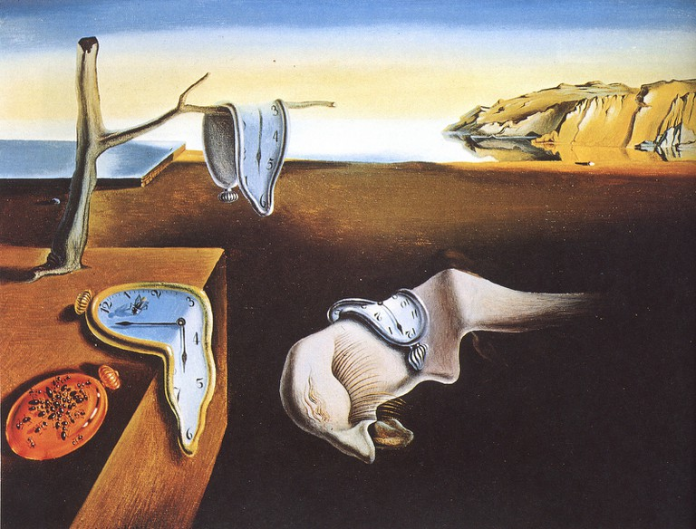 Salvador Dali's The Persistence of Memory © PW McMahon / Flickr