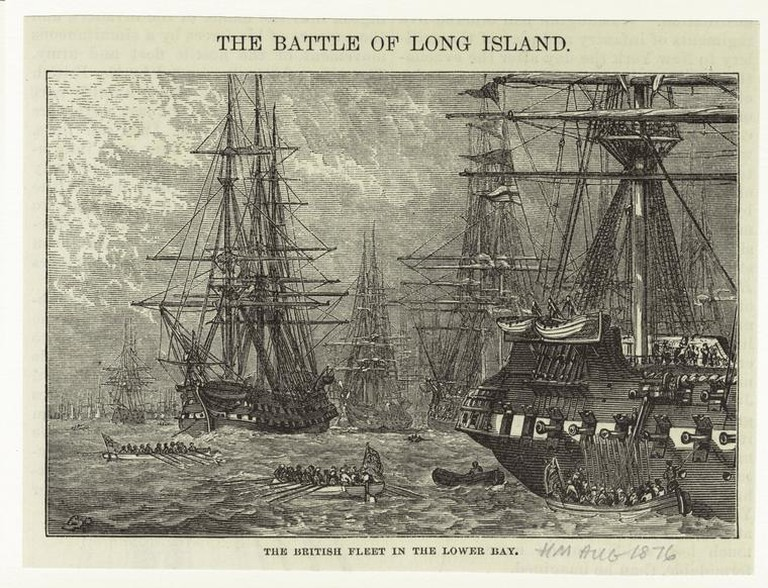 The British fleet in the lower bay 1876   © Harper Brothers/WikiCommons