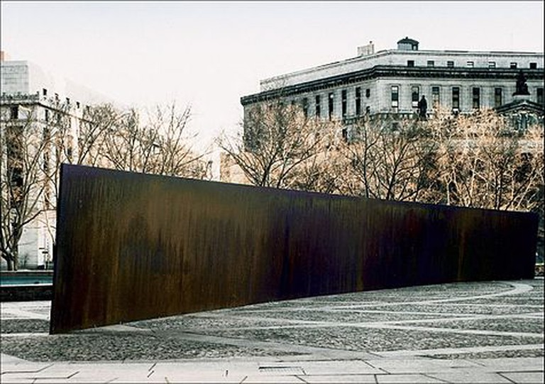 Tilted Arc | © By U.S. General Services Administration/WikiCommons