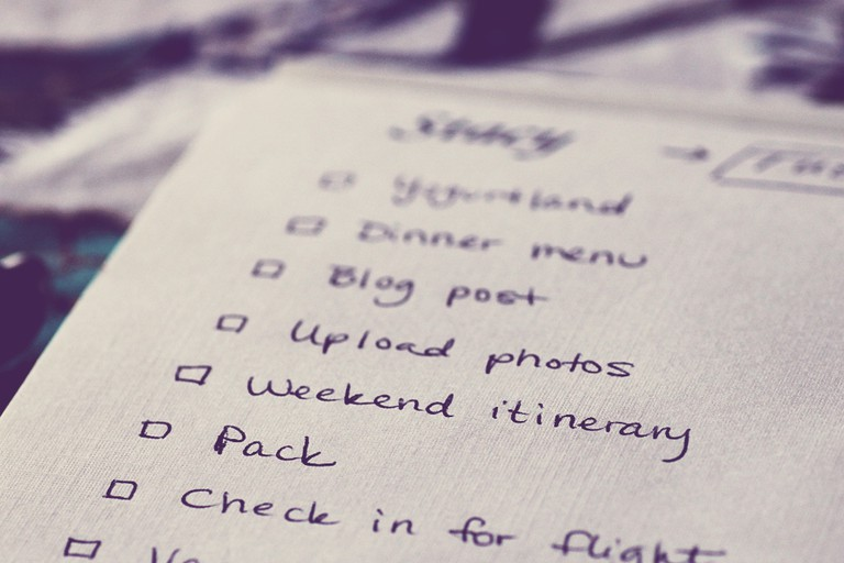 To-do List | ©Stacy Spensely