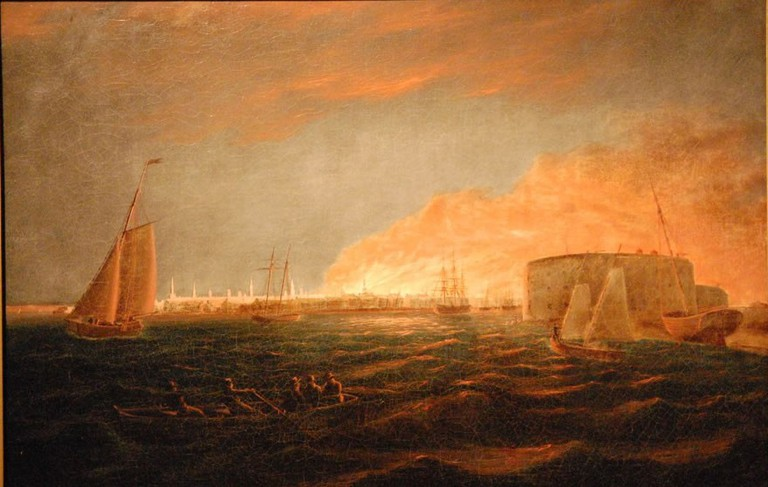WLA nyhistorical Nicolino Calyo The Great Fire of 1835 | © Nicolino V. Calyo (1799–1884)/WikiCommons