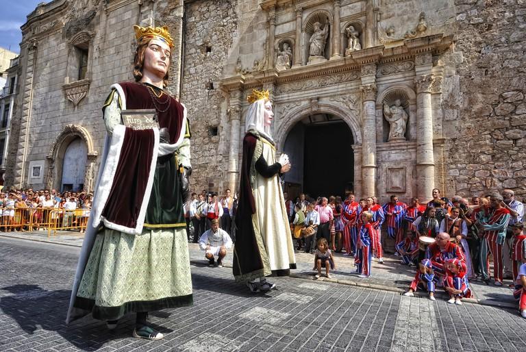 Els Gegants | Courtesy of El Museu Valencià de la Festa d'Algemesí