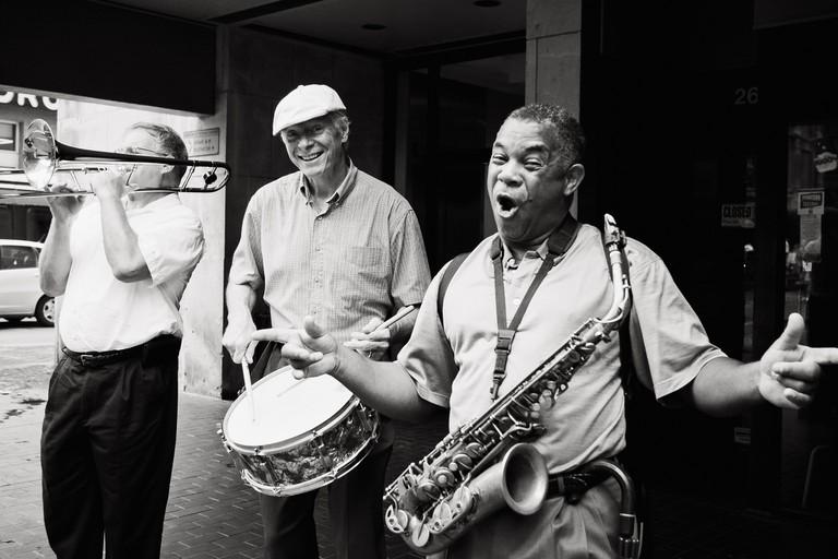 Street Jazz Band | © Jesse Acosta/Flickr