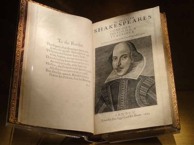 First Folio - Folger Shakespeare Library - DSC09660 | © Daderot/WikiCommons