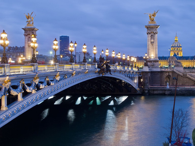 Pont Alexandre III   © WikiCommons