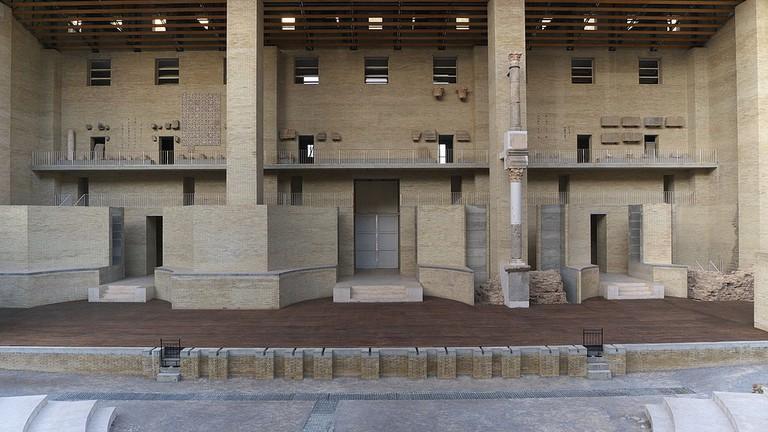 The Stage of the Roman Amphitheatre in Sagunto | ©José Luis Filpo Cabana/Wikicommons
