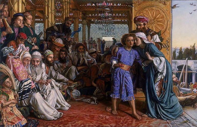 William Holman Hunt, The Finding of the Savior in the Temple, 1860   ©Birmingham Museum and Art Gallery/WikiCommons