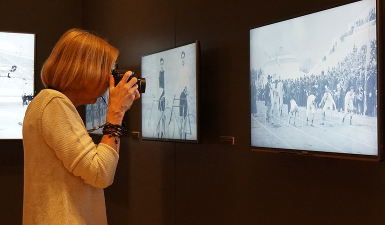 The Benaki Museum exhibition is showing at Costa Navarino until November 30 © Costa Navarino