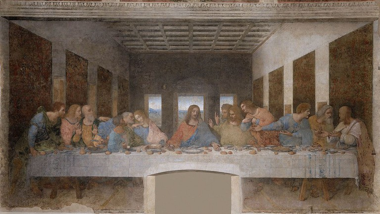 Da Vinci's Last Supper | © WikiCommons