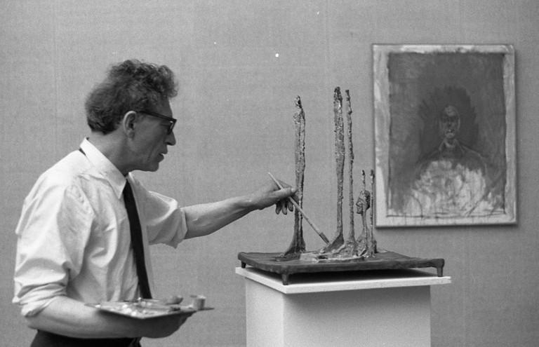 Giacometti, Biennale di Venezia, 1962 | ©Paolo Monti/Wikicommons