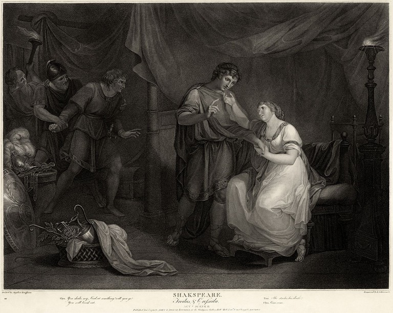 Troilus and Cressida, Act V, Scene II   © Adam Cuerden / WikiCommons
