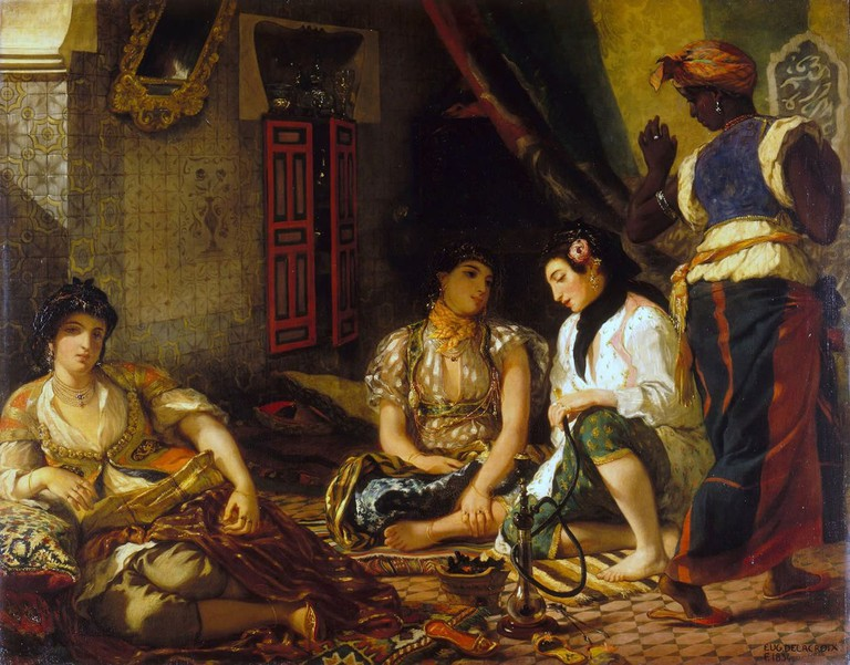 Eugène Delacroix The Women in Algiers in their Apartment 1834   © Louvre Museum/WikiCommons