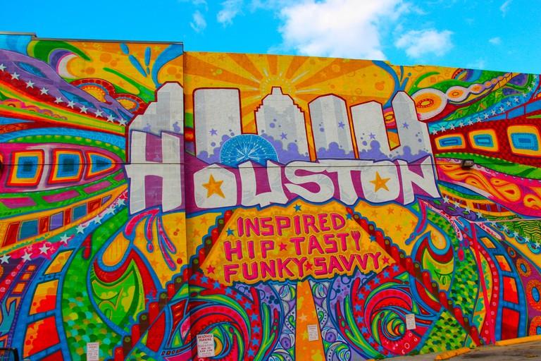 Houston Mural | © Valerie Lawson/Flickr