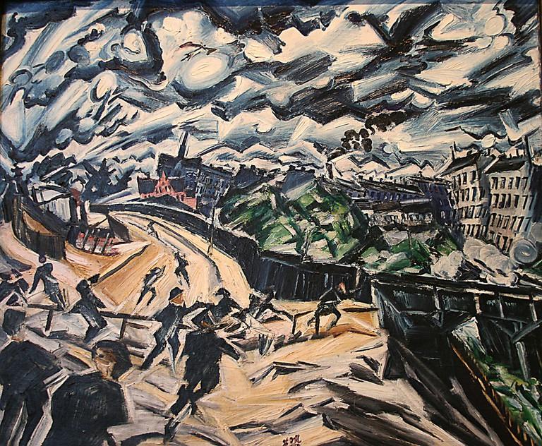 Apocalyptic Landscape (Meidner, 1913) | © Karen/Flickr