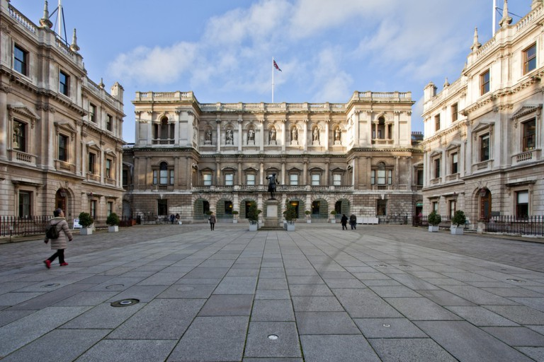 Courtyard of the Royal Academy, London