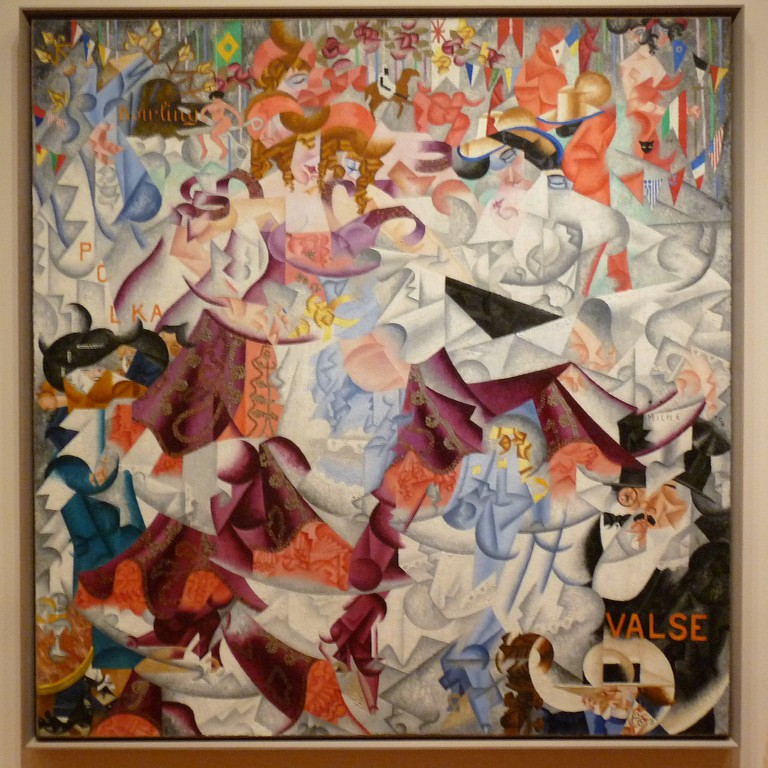 Dynamic Hieroglyphic of the Bal Tabarin by Gino Severini | © gωen/Flickr