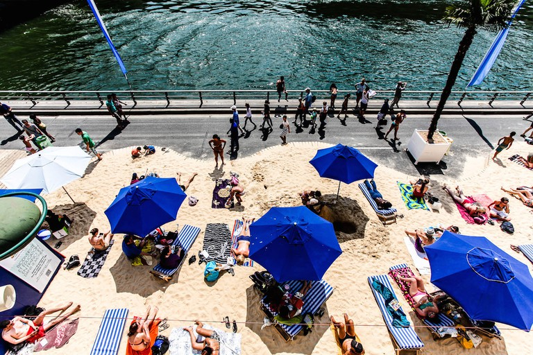 Paris Plages | © Sharat Ganapati/Flickr