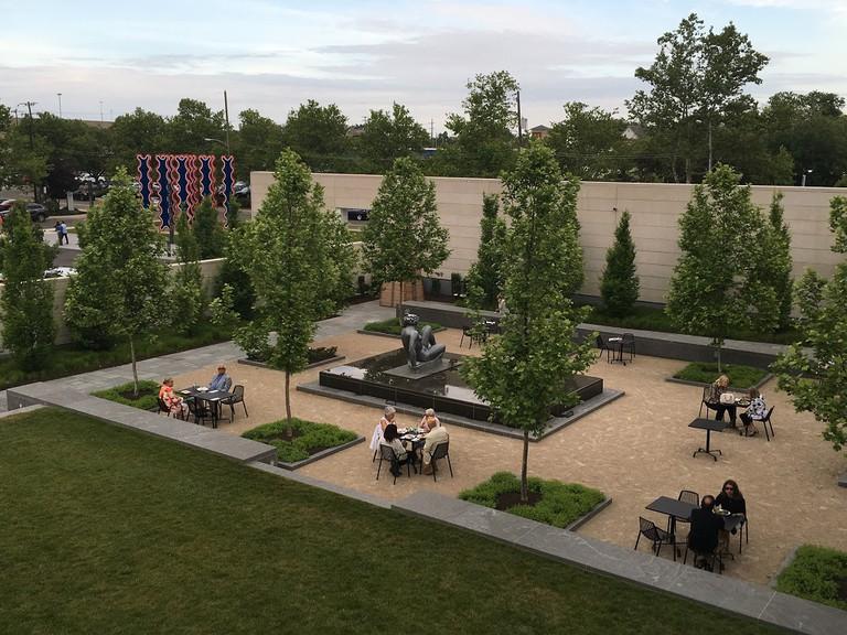 Columbus Museum of Art Sculpture Garden | Courtesy of Victoria Hart