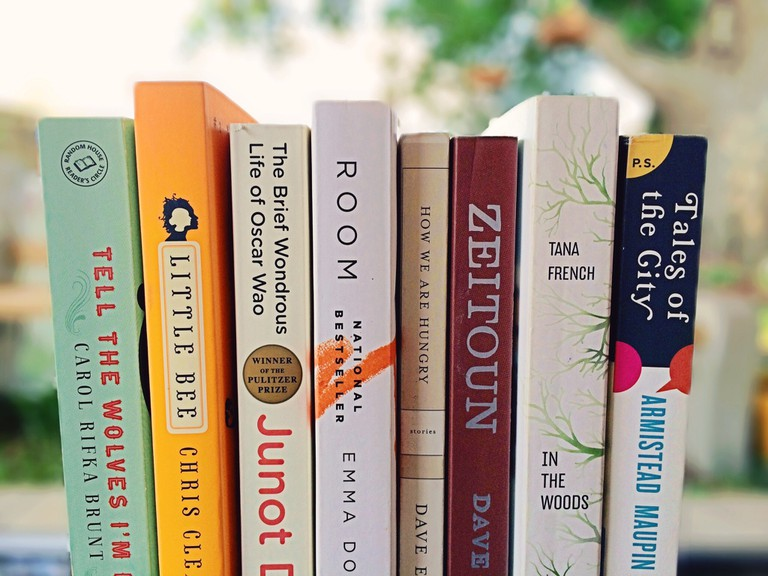 I accidentally brought money to a book sale © Brittany Stevens/Flickr.com