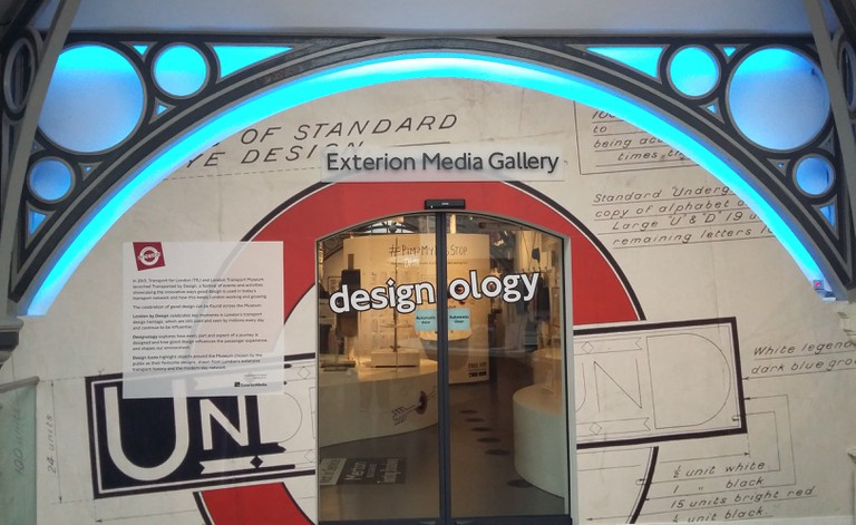 The London Transport Museum's Designology Exhibition | © Christopher M Little