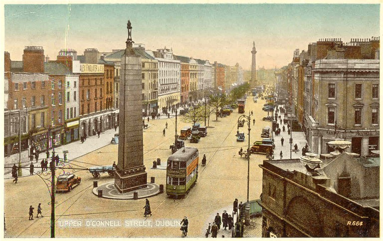 Early 20th Century O'Connell Street | ©CartesPostalesDub / WikiCommons