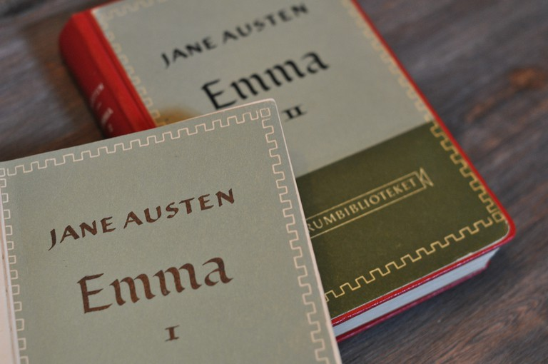 Emma: the last book Austen saw published |© Charlotta Wasteson / Flickr